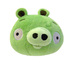 angry birds plush piglet sound green