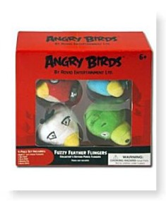 Buy Now Angry Birds Flingers 2 Inch Soft Pencil