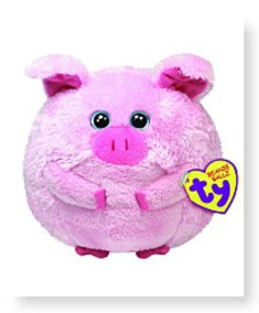 Beanie Ballz Beans The Pig Large