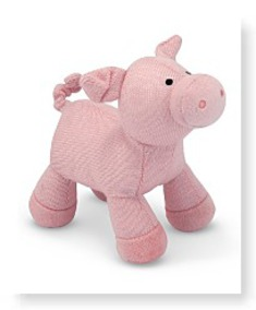 Melissa And Doug Sweater Sweetie Pig