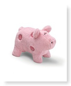 Our Name Is Mud Good Luck Pig 7 Plush