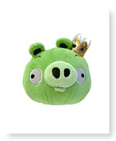 Buy Now Plush 5INCH King Pig With Sound