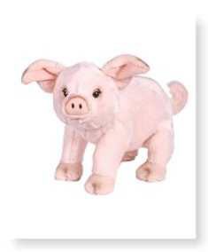 Buy Now Signature Deluxe Plush Figure Pig