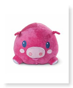 Wiggimals Pig Plush