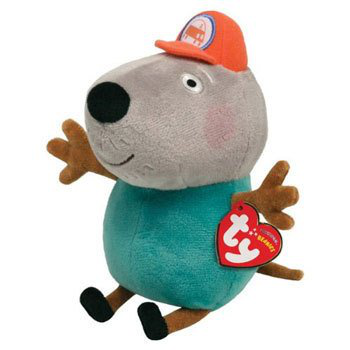 Ty Beanie Baby - Grandad Dog (uk Exclusive - Peppa Pig)