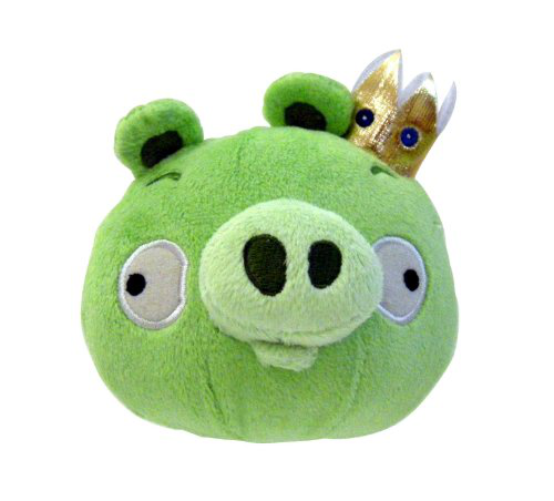 Plush 5INCH King Pig With Sound